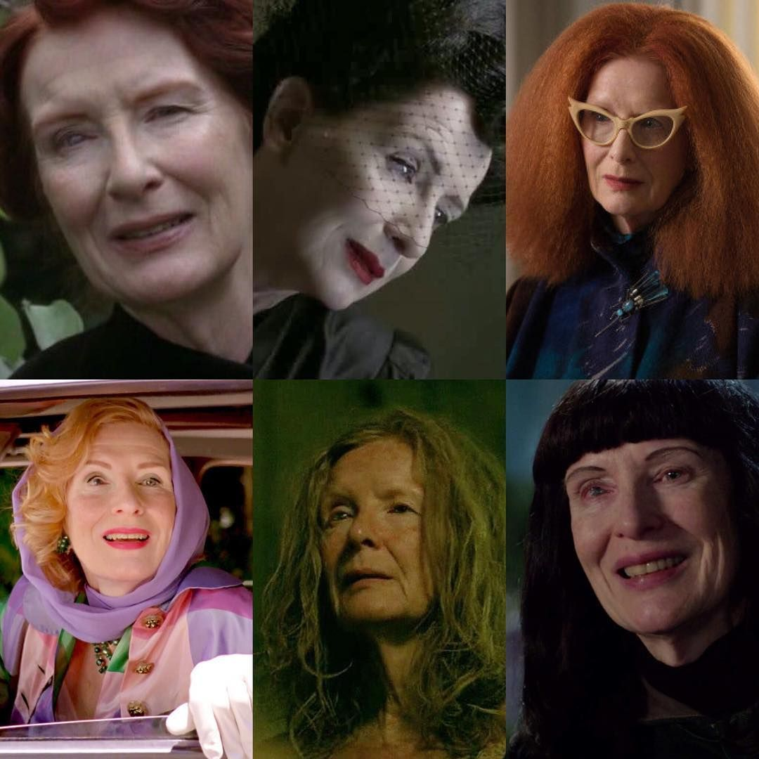 Frances Conroy eye